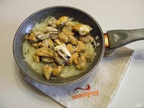 Паста с мидиями в сливочном соусе - фото шаг 2