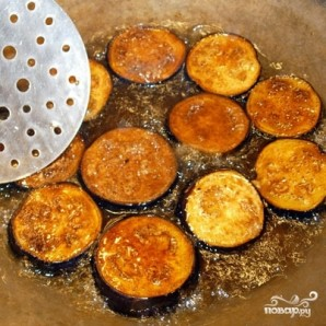 Баклажаны с раздельно обжаренными овощами - фото шаг 7