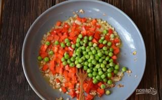 Рис с овощами и креветками - фото шаг 5