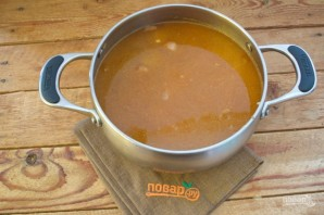 Цыганский острый суп - фото шаг 9