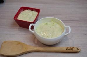 Кабачковое суфле с индейкой под грибным соусом - фото шаг 6