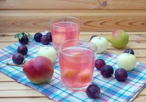 Компот из яблок, груш и алычи - фото шаг 7