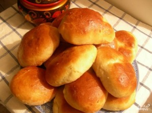 Пирожки с капустой и мясом - фото шаг 11