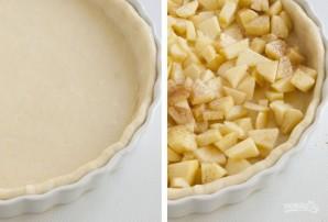 Пироги с яблоками из дрожжевого теста - фото шаг 6