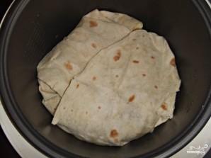 Слоенный пирог из лаваша - фото шаг 10