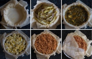 "Марокканский пирог ""Бастила"" - фото шаг 4"