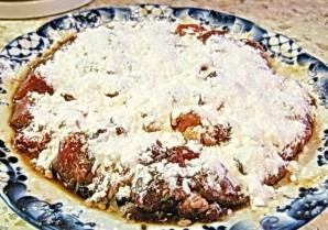 Говядина с баклажанами и помидорами - фото шаг 7