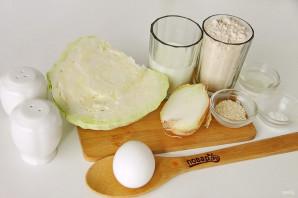 Диетический пирог с капустой - фото шаг 1