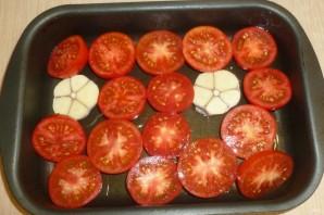 Перловка с печеными томатами - фото шаг 1