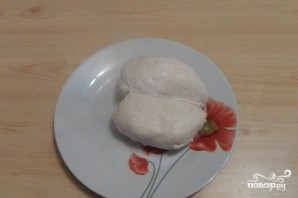 Сырный суп на курином бульоне - фото шаг 2