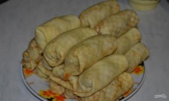 Вегетарианские блинчики с картофельной начинкой - фото шаг 9