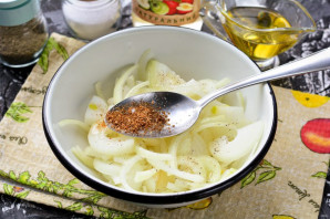 Маринованный лук по-корейски - фото шаг 5