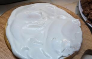Торт из кусочков бисквита - фото шаг 9