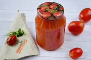 Помидоры в томатном соке - фото шаг 4