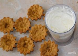 Корзиночки с сырным кремом - фото шаг 4