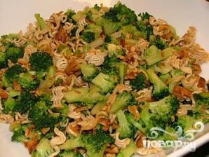 Салат с пеканом и брокколи - фото шаг 5