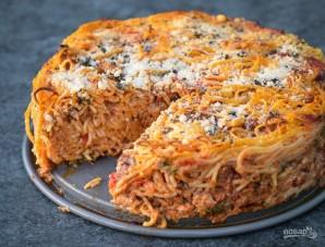 Запеканка из фарша и спагетти - фото шаг 12