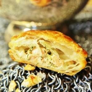 Пирожки с лососем - фото шаг 11