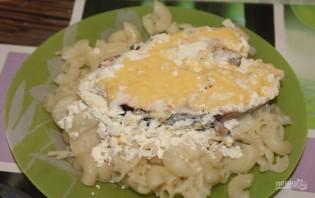Рыба под сливочным соусом в духовке - фото шаг 6
