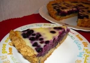 Черничный пирог со сливками - фото шаг 4