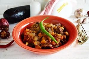 Говядина, тушеная с овощами в томатном соусе - фото шаг 7