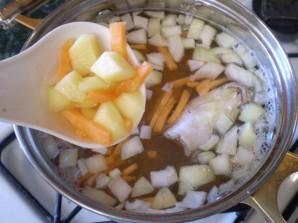Суп из рыбных голов - фото шаг 4