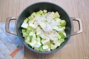 Салат из кабачков с рисом на зиму - фото шаг 7