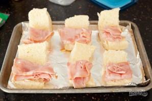 Простые сэндвичи с пикантным соусом - фото шаг 2