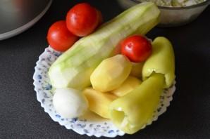 Диетическое овощное рагу в мультиварке - фото шаг 2