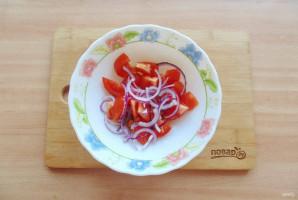 Критский салат - фото шаг 4