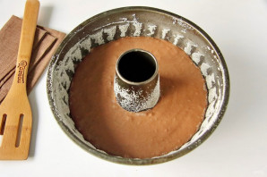 Шоколадный кекс на кефире - фото шаг 5