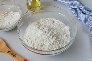 Багет с сыром и чесноком - фото шаг 3