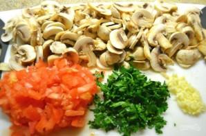 """Кесадилья с грибами и соусом """"Гуакамоле"""" - фото шаг 1"""