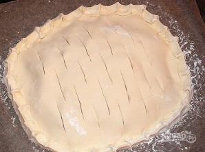 Простой хачапури с сыром в духовке - фото шаг 4
