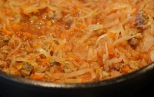 Рис с куриным фаршем - фото шаг 3