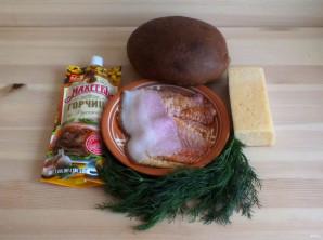 """Горячие бутерброды с беконом и горчицей """"Махеевъ"""" - фото шаг 1"""