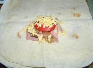 Горячие бутерброды из лаваша - фото шаг 3