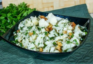 Салат с цветной капустой - фото шаг 5