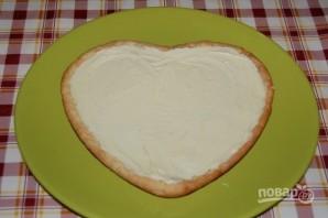Пирог с белым шоколадом на День Валентина - фото шаг 8