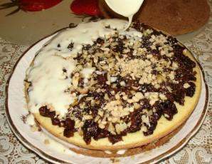Бисквитный торт с черносливом - фото шаг 4