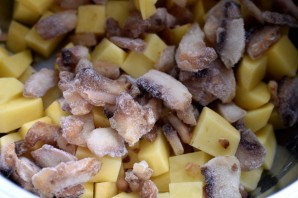 Суп картофельный с грибами и пореем - фото шаг 1