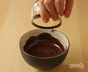 Жидкий шоколад - фото шаг 5