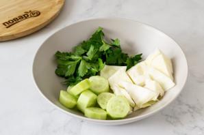 Смузи из белокочанной капусты - фото шаг 2