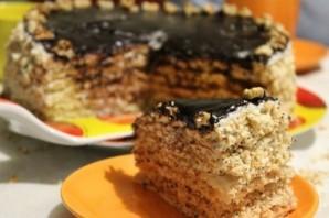 "Торт ""Нежный"" - фото шаг 9"
