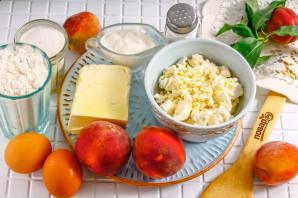 Пирог с персиками и рикоттой - фото шаг 1