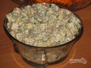 Салат из консервированных ананасов - фото шаг 6