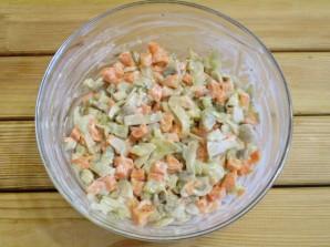Салат с грибами и морковью - фото шаг 9