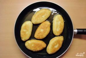 Пирожки с сайрой и рисом - фото шаг 15