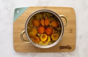 Варенье из яблок и абрикосов