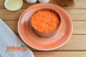 Слоеный салат из редьки - фото шаг 5
